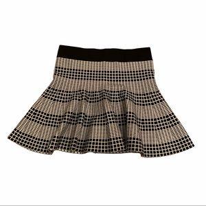 4/$40 - Forever 21 Black & White Knit Skirt L
